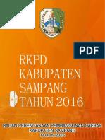 RKPD Kabupaten Sampang Tahun 2016
