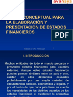 Marco Conceptual de Los Estados Financieros - HÉCTOR LUQUE