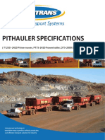 Pithauler Specifications Powertrans