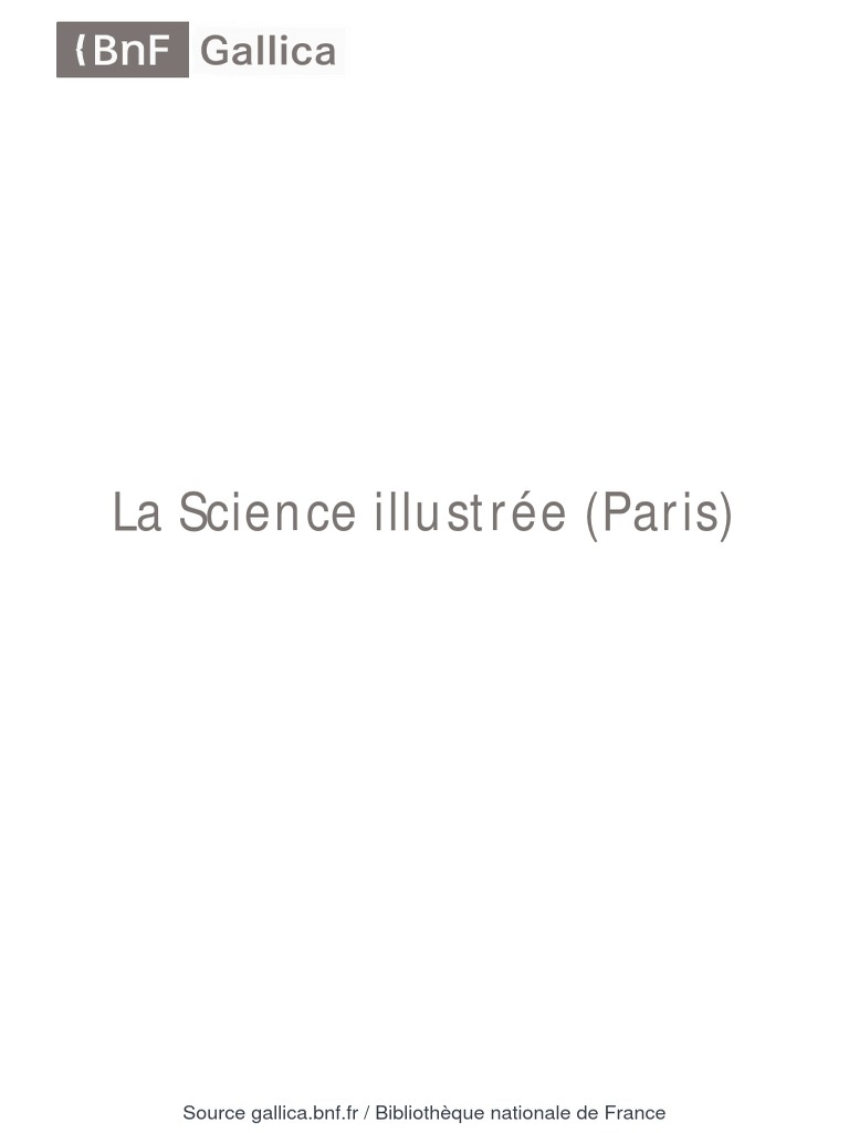 La Science Illustrée Journal [   ]Exposition Internationale