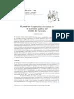 """""""El Papel de la Agricultura Intensiva en la Economía Política del Estado de Tiwanaku"""" - Alan Kolata (1985)"""