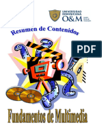 Resumen Fundamentos de Multimedia PDF
