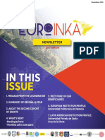 Euroinka-newsletter 2nd Edition