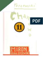 Białoszewski Miron Chamowo