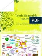2 Teoría General de Sistemas