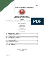Informe de Lab Taladro - PDF