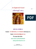Shri Baglamukhi Kavach