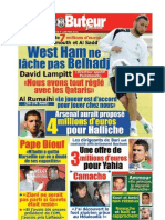 LE BUTEUR PDF du 10/07/2010