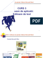Curs 3 S1 - Software de Aplicatiii