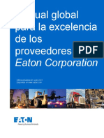 Eaton Supplier Excellence Manual Word Document Spanish
