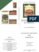 Sfintele Moaşte Din România - Arhim. I.bălan - 1999