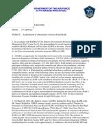 Kirtland AFB Restoration Advisory Board Decision