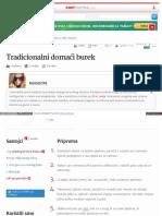 Www Coolinarika Com Recept Tradicionalni Domaci Burek