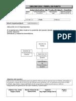 BSA-DOPE-DP-10 Administrativo de Productividad y Gestión