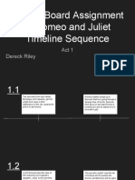 choice board assignment 1- romeo and juliet timeline sequence - act 1- dereck riley