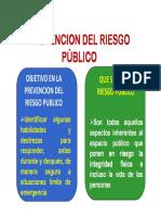 Prevencion en Riesgo Publico