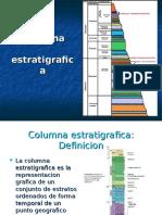 columnas estratigráficas