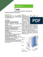 Bituthene 3000 ARG 2014