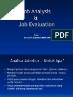 10 JOB GRADING Job Analysis Job Evaluation