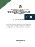 O Código Florestal de 65 e de 2012 e as Zonas Ripárias Em Santa Catarina. Tese - Cláudio Zimmermann 2015