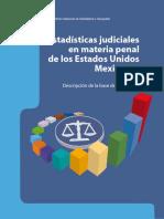 Estadísticas Judiciales 2012