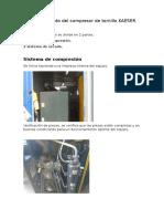 Mantenimiento Del Compresor de Tornillo KAESER