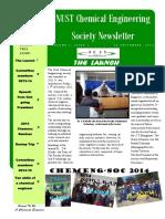 Chemsoc Newsletter -Issue 1