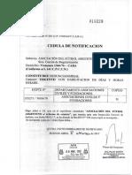 015299 Cedula Inspeccion General de Justicia - Afa s. Reforma de Estatuto_1