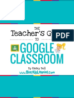 teachers guide to google classroom