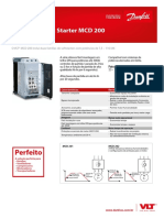 Catálogo VLT Compact Starter MCD 200 - DKDDPFP552A228
