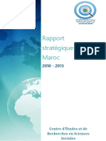 Rapport Strategique