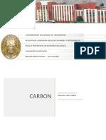 INFORME GEOLOGICO SOBRE CARBON YACIMIENTOS DE MINERALES  NO METALICOS
