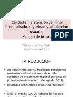 Calidad IAAS Pediatria CLASE 1