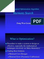 A New Heuristic Optimization Algorithm Harmony Sea