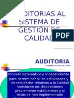 Auditorias 2 - Clasificación Auditorias