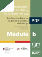 Especialización Acción Sin Daño y Construcción de Paz -Acción Sin Daño en La GIR