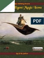 Intelligent Magic Items