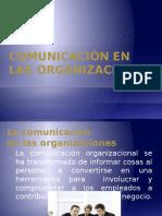 Comunicación en Las Organizaciones