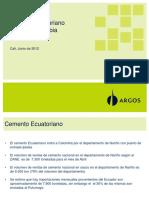 Cemento Ecuatoriano en Suroccidente1