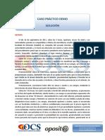 Supuesto Demo Ejecutiva Solución OCS