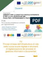 Ambienti Per La Didattica Digitale Integrata (#4, 7) Pon f3 Aghemo