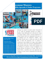 2017 Adult Learn-to-Swim Flyer Spanish