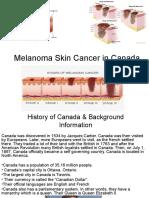 melanoma skin cancer in canada ppt