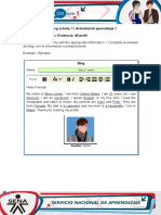 AA1-Evidence 1 My Profile(1)