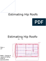 Estimating Hip Roofs