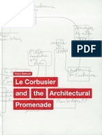 Le Corbusier and the Architectural-Promenade, Flora Samuel