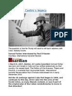 Cuba  Fidel Castro's legacy.docx