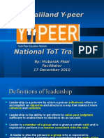 Presentation on Leadership-ypeer (2)