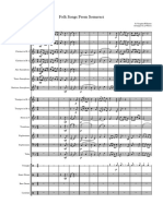 folk songs from somerset - full score