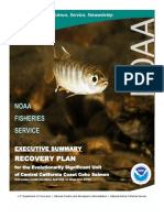 2012 Coho Salmon Recovery Plan Executive Summary